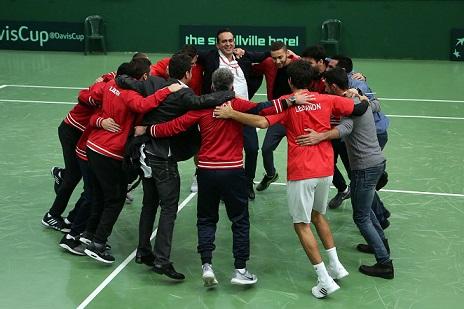 2f360f9cb حققت لعبة التنس في لبنان انجازاً دولياً كبيراً تمثّل بالفوز على تايبه  الصينية(3-2) في اطار المجموعة الآسيوية- الأوقيانية الثانية لمسابقة كأس  ديفيس والتي ...